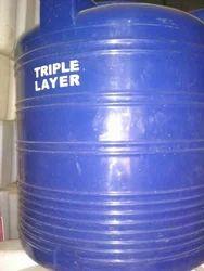 Triple Layer Plastic Tank