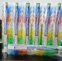 Nylon Multicolor Badminton Shuttlecock