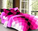 Double Bed Pure Satin Bed Sheet
