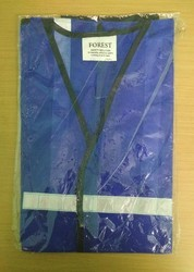 Blue Colour Safety Jacket
