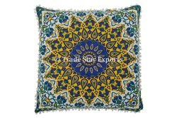Hippie Mandala Floral Cotton Pillow Case