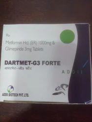 Glimepride 3 Mg Meformin 1000 Mg