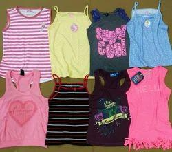 Cotton Kids Wear, Export Surplus Stocklot Garments