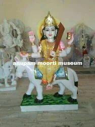 Sheetla Mata Marble Statue