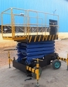 Scissor Lift With Outriggers