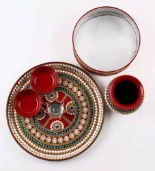 Karavah Choth Pooja Thali Set