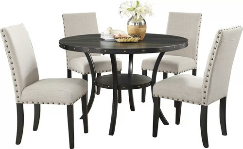 Multicolor Modern Wooden Dining Table Set