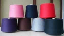 100% Polyester Dyed Yarn, For Saree