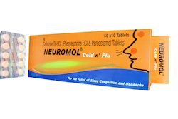 Neuromol Cold N Flu Tablet, For Clinic
