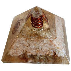 Orgone Pyramid Of Crystal Quartz