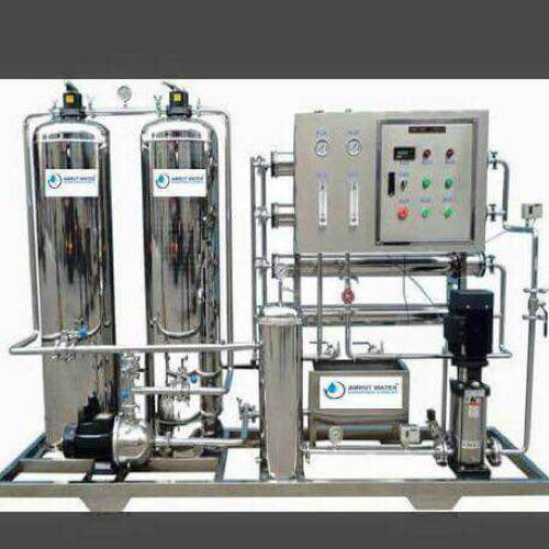 Semi-Automatic Stainless Steel R O Plant S S 1000 LPH, 500-1000 (Liter/hour), Industrial RO Plant