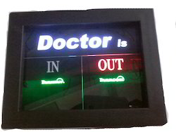 Doctor In Out Display Board