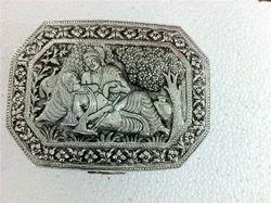 German Silver Jewellery Box