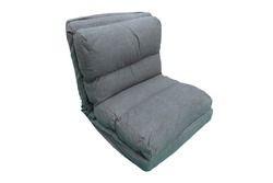 Floor Sofa Cum Bed - 65 Cm Wide - Grey