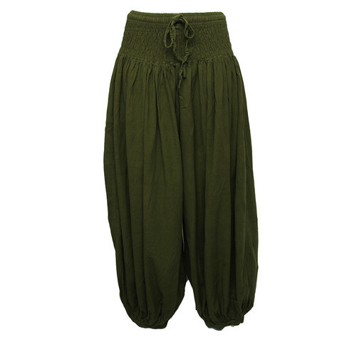 buy sale new release hot-selling latest High Crotch Cotton Harem Pants