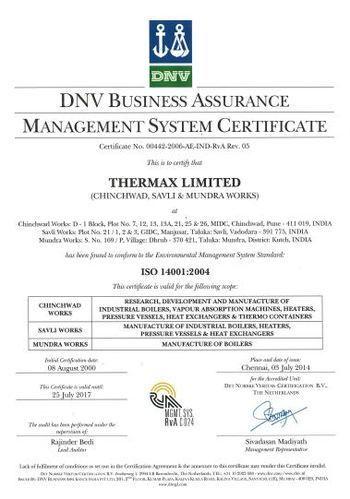 Awards & Memberships of Thermax Limited | Shivaji Nagar, Pune