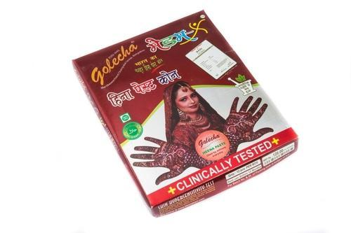 Golecha Maroon Henna Cones Usage Personal Parlour Rs 164 Box