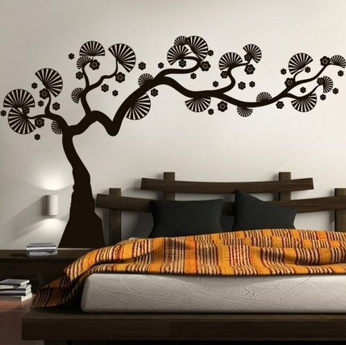 Bedroom Wall Stickers Interesting Design Inspiration