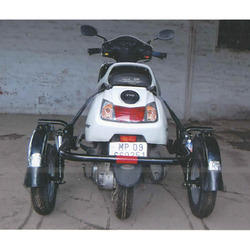 Handicapped Scooter - Handicapped Three Wheeler Scooty