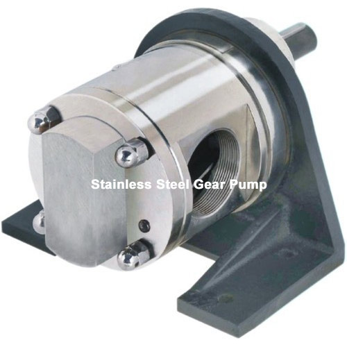 Stainless Steel Gear Pump MESX,  Max Flow Rate: 300 LPM