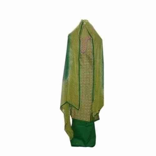 Trendy Maheshwari Silk Unstitched Suits, Maheshwari Silk ...