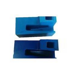 Blue Nylon Machining Component