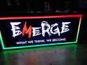 Commercial Glow Sign Board