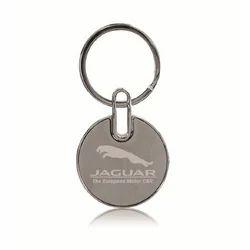 Jainex Corporate Gifts Steel Jaguar Key Ring