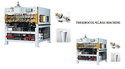 EPS / Thermocole Disposable Glass Pattel Dona Machine