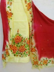 Cotton Unstitched Punjabi Suit, Handwash
