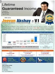 Lic Jeevan Akshay Plan VI