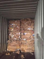 Brown imported OCC Waste Paper