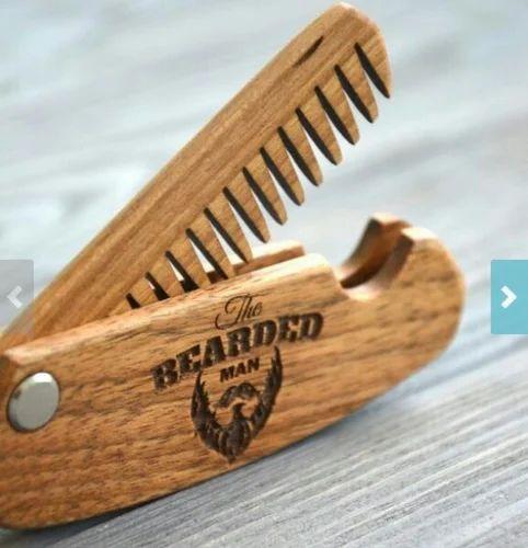 Folding Beard Comb | A K Handicrafts | Manufacturer in Azad