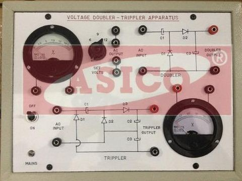 Asico Voltage Doubler & Trippler Circuit Apparatus, Ae 248