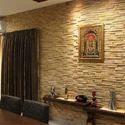 Teak Sandstone Wall Cladding Tiles