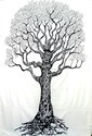 Black And White Tree Of Life Wall Decor