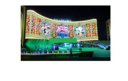 LED Curtain Display Screen