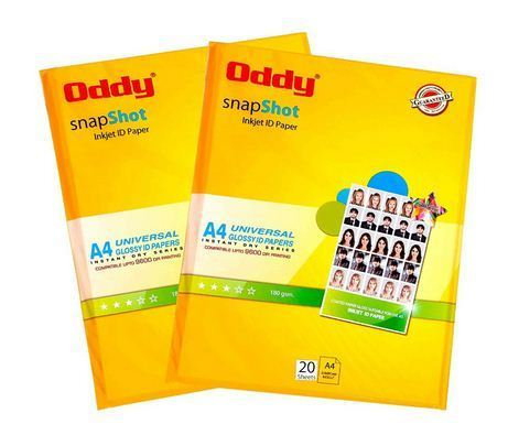 0d41e815428 Oddy Snapshot Coated Glossy Inkjet ID Paper 180 GSM