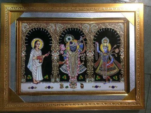 Designer God Photo Frame Embossed Frame Picture Frame Photo Frame Border फ ट फ र म In Odhav Ahmedabad Shree Radhe Fashion Id 12712415862