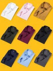 Long Sleeve Slim Fit Mens Formal Shirts
