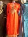 Orange Ladies Suit