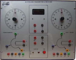 AC Synchro Transmitter & Receiver Demonstration Unit