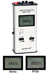 RTD Temperature Calibrator