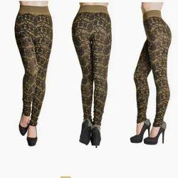 Jacquard Designer Leggings