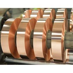 Rectangular Copper Strip Coil, For Industrial, Thickness: 0.10 Mm - 3.00 Mm