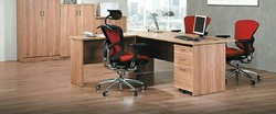 L Shaped Manager Desk with Out Chair