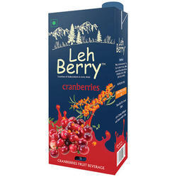 Seabuckthorn Beverages Cranberries Juice, Pack Type: Pouches