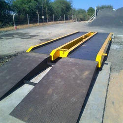 Steel Mobile Weighbridge, Weighing Capacity: 30 To 100 Ton
