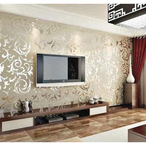 Room wallpapers home design for Sitting room wallpaper
