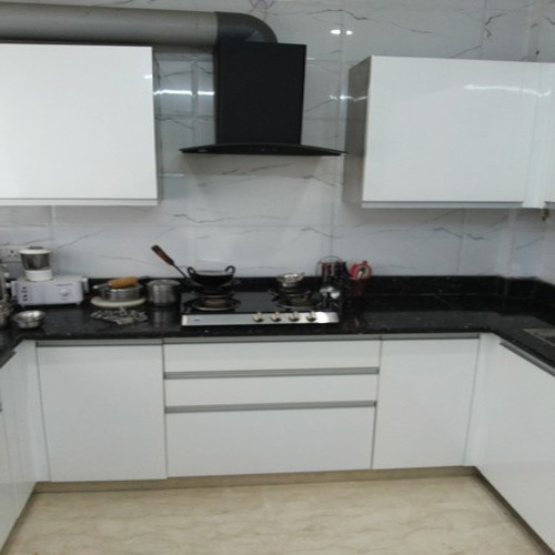 Stainless Steel Modular Kitchen Cabinets: Stainless Steel Modular Kitchen At Rs 3900 /square Feet(s